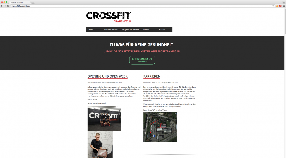 Crossfit Frauenfeld