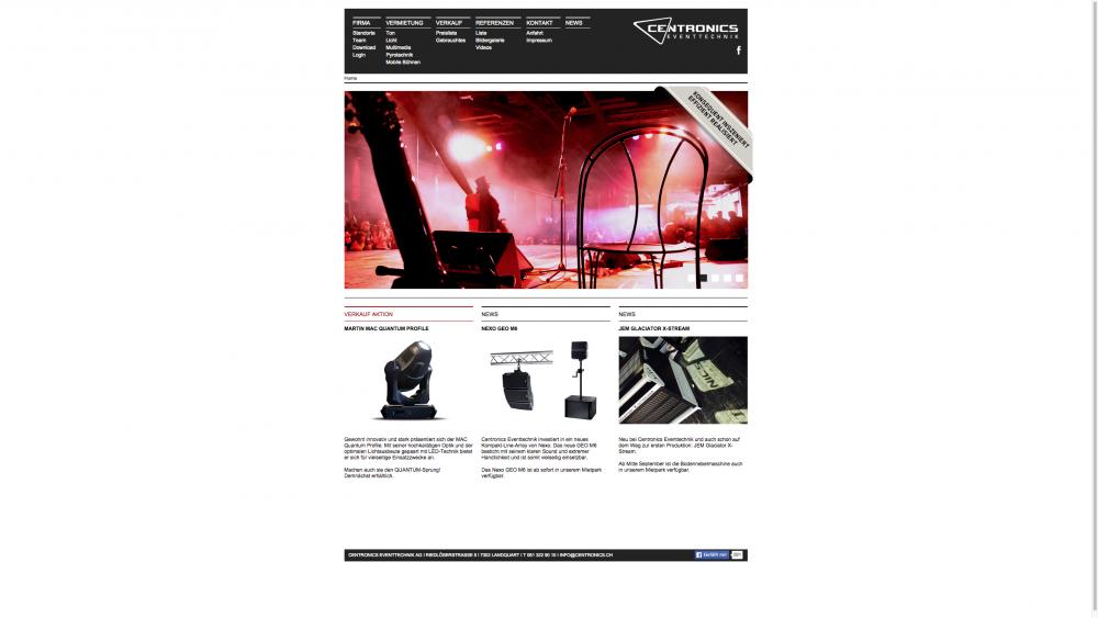 centronics website